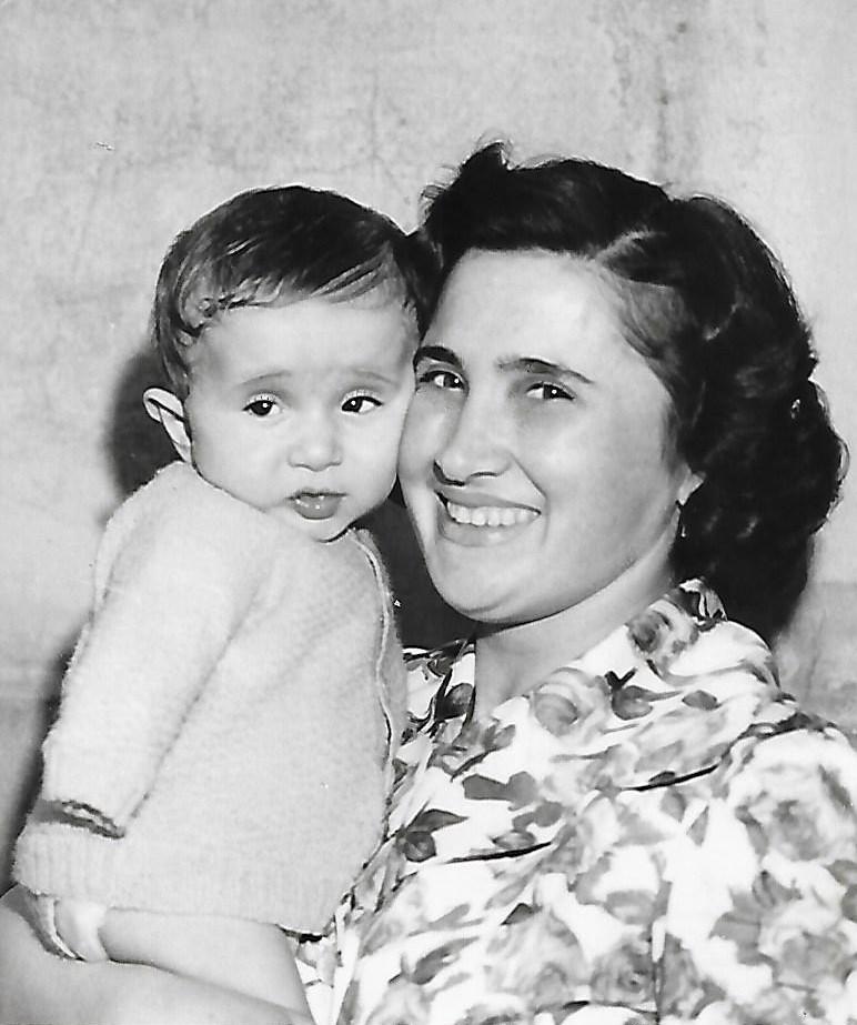2 – Dante con mamma Vanda