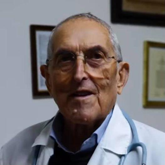 Pietro Casella medico 87 anni